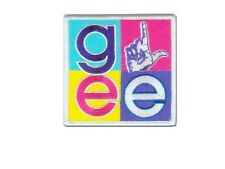 Glee ecusson brodé OFFICIEL logos square Glee logo patch