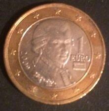 Österreich 1€-Kursmünze Mozart 2009 zirkuliert, freie Versandkostenauswahl