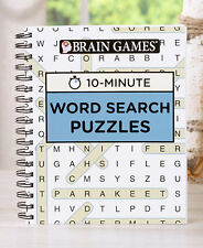 10-MINUTE BRAIN GAMES PUZZLE BOOKS - WORD SEARCH