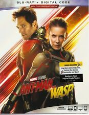 ANTMAN AND THE WASP BLURAY & DIGITAL SET with Paul Rudd & Evangeline Lilly
