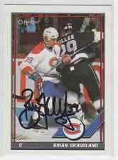 Autographed 91/92 OPC Brian Skrudland - Canadiens