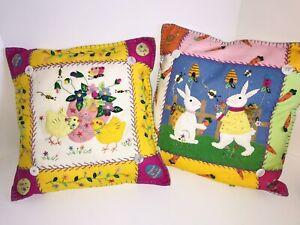 Easter Pillows felt
