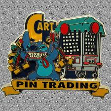 Stitch & Pin Trading Cart Pin - Invasion Series - Disney - DLP - LE 1200