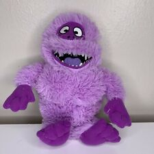 Rare Rudolph the Red Nosed Reindeer Abominable Snowman Plush Toy Purple 12""