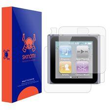 Skinomi FULL BODY (MATTE) Skin+Screen Protector for Apple iPod Nano 6G