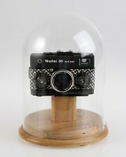 ROLLEI 35 WOODEN DISPLAY STOLP DISPLAY, ORIGINAL ROLLEI ITEM / WITHOUT CAMERA !!