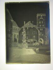 Ribeauville  .plaque de verre négatif photo ancienne