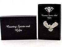 Pheasant Pin Badge English Pewter Shooting Gift FREE 1st POSTAGE