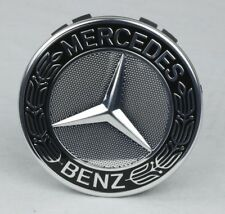 Original Mercedes-Benz Nabendeckel Stern Lorbeerkranz schwarz A17140001259040