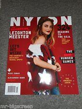 LEIGHTON MEESTER - NYLON MAGAZINE - NOVEMBER 2014 - GOSSIP GIRL