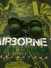 "DAMTOYS Russian Airborne VDV Crimea 12"" Green Elbow Pads loose 1/6th scale"