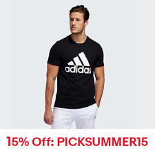 New With Tags Adidas Men's Logo Tee Top Athletic Muscle Gym Shirt