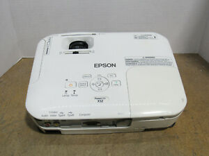 Epson PowerLite X12 3LCD XGA Projector 2800 Lumens 3440 Lamp Hours Tested Works