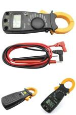 Auto Range Digital Clamp on Meter Multimeter AC/DC Voltmeter Volt Amp Tester