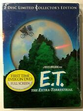 E.T. The Extra-Terrestrial (2-Disc DVD Set, Limited Collector's Edition) **NEW**