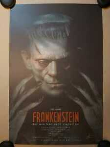 Frankenstein - 1st Edition Lithograph - Signed - Art by Greg Staples - Nt Mondo