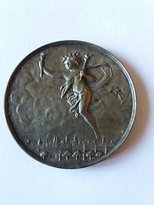 Médaille argent société technique de l'industrie du gaz en France 1927