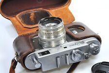 Zorki 4 cámara telemétrica con Jupiter 8, basada en Leica, después de CLA desde 1961