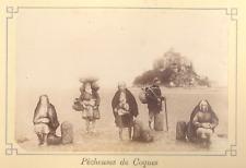 """Normandie ALBUM """"Souvenir du MONT SAINT-MICHEL""""; 12 épreuves albuminées c.1880"""