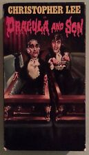 christopher lee  DRACULA AND SON  VHS VIDEOTAPE english dubbed
