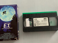 E.T. The Extra-Terrestrial VHS 1988 VERY RARE GREEN BLACK EDITION MCA Home Video