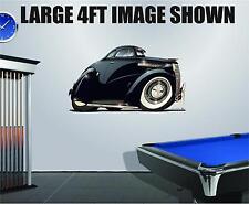 DB 1938 Chevy Coupe Wall Decal Graphic Vinyl Art Cartoon Car Wall Sticker Decor