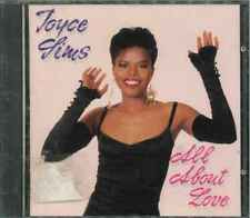 """JOYCE SIMS """"All About Love"""" CD-Album"""