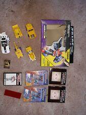 Vintage 4-Transformers G2 Constructicons Devastator Lot + 2 More + Box + Flyers