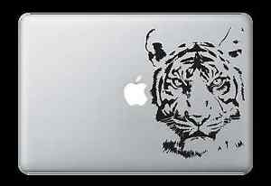 Tiger Face Decal Sticker for Apple Mac Book Air/Pro Dell Laptop Graphic Detailed
