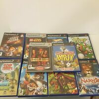 PS2 Kids Games Bundle X 10 Playstation 2 Lego Star Wars Over The Hedge PAL