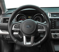 Steering Wheel Cover Stitch on Wrap for Subaru 2015 Legacy Outback Forester 2017