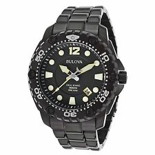 Bulova 98B242 Men's Sea King Black Quartz Watch