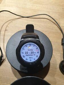 Samsung Gear S3 Frontier Smartwatch Model SM-R760 - Black