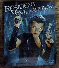 RESIDENT EVIL: AFTERLIFE BLU-RAY steelbook horror Milla Jovovich Ali Larter