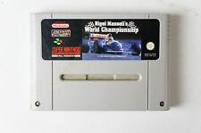 SNES - Nigel Mansell's World Championship für den Nintendo SNES Super Nintendo