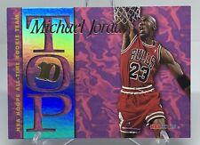 1995-96 NBA Hoops Michael Jordan Top Ten 10 Insert #AR7 Chicago Bulls GOAT👀🔥📈