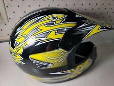 Fulmer JT1 Maze Youth Motocross DOT Helmet Yellow/Black Maze Youth size Medium