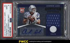 2012 Totally Certified Future Andrew Luck ROOKIE RC AUTO PATCH /175 PSA 9 (PWCC)