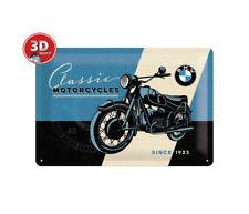 22233 Placa metálica 20x30 bmw classic nostalgic art coolvintage