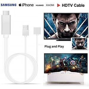 CAVO MHL FULL HD 1080P MICRO USB HDMI HDTV TV per SAMSUNG IPHONE HUAWEI XIAOMI