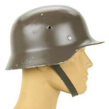 Original German M40 WWII Type Steel Helmet- Finnish M40/55, Size 57cm, US 7 1/8