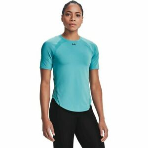 Under Armour CoolSwitch T-Shirt Women's Blue Sportswear Top Activewear Tee