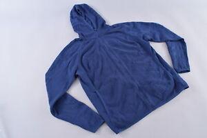Rapha Pro Team Transfer Hoodie Men's Large Cycling Casualwear Blue