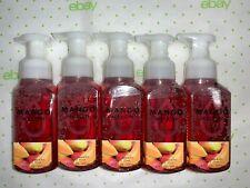 5 Mango Melon Gentle Foaming Hand Soap Bath & Body Works 8.75 Oz