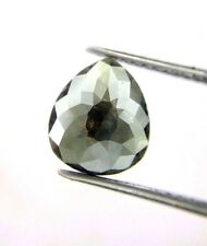 Rare Big 1.75TCW Pear Shape Gray Color Rose Cut Antique Natural Loose Diamond