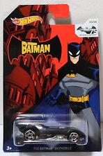 MATTEL HOT WHEELS 2013 THE BATMAN BATMOBILE EUROPEAN DIECAST CAR MOSC RARE 3/8