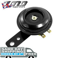 12v Replacement Motorcycle Horn Motorbike Loud Horn Honda Black 105db Universal