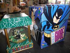 DC Comics Batman & Two Face Bank Robbery Snow Globe w/ Original Box