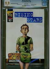 RISING STARS #1/2 CGC 9.9 MINT WHITE PAGES 2000 WIZARD WORLD SPECIAL EDITION