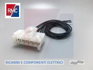 Connettore ORIGINALE 6 vie cablato per fanale posteriore Fiat Ducato Alfa Lancia